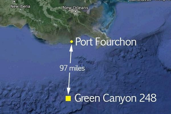 S confirms oil spilled from its Glider field in the Gulf of ... on