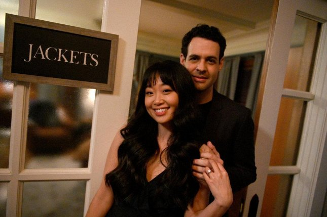 Alice Lee (L) and Andrew Leeds can now be seen in Zoey's Extraordinary Playlist. Photo by Sergei Bachlakov/NBC/Lionsgate