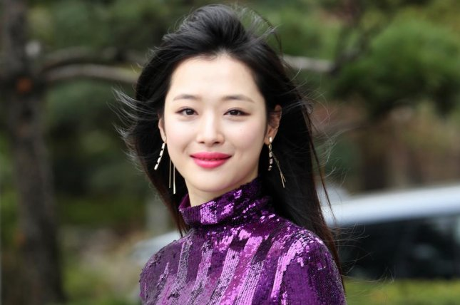 Sulli began her career as a child TV star before joining the K-pop girl group f(x). File Photo by Yonhap