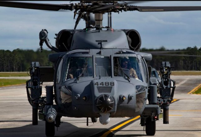 The first two U.S. Air Force HH-60W Jolly Green II helicopters arrived on Thursday at Moody Air Force Base, Ga. Photo by Andrea Jenkins/USAF