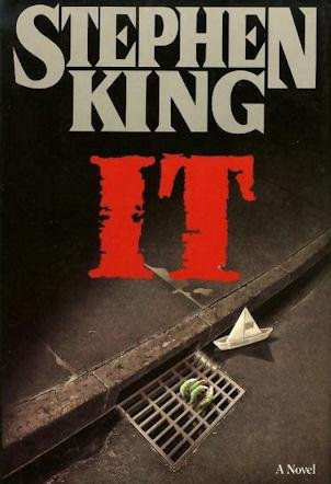 First edition cover of Stephen King's 'It.' (Viking)