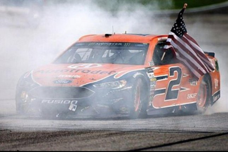 Brad Keselowski. (NASCAR/Instagram)
