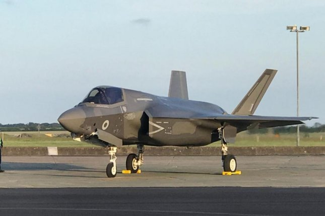 Britain's first four F-35B Lightning aircraft have touched down at RAF Marham in Norfolk, the fleet's new home. Photo courtesy of RAF