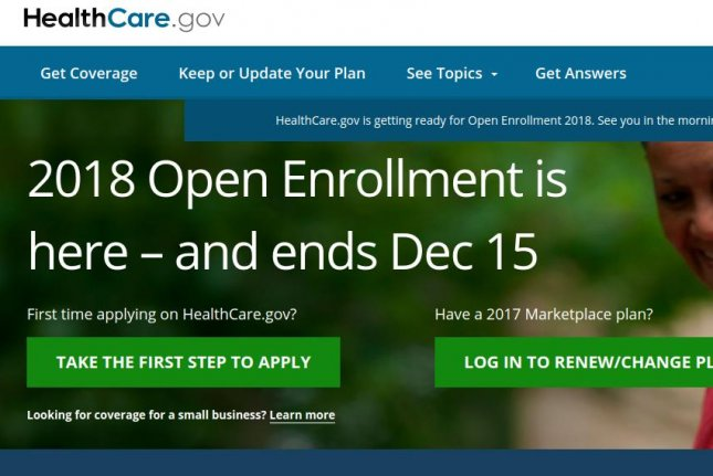 Opening day of enrollment for federal health insurance marketplace