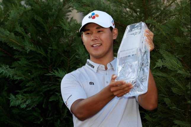 Si Woo Kim of South Korea became the youngest winner of The Players Championship at 21 years, 10 months and 16 days. Photo courtesy PGA Tour/Twitter