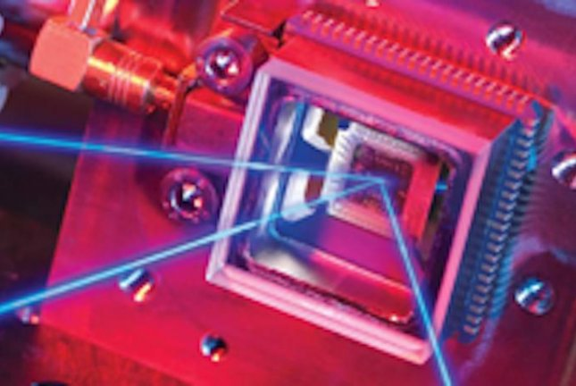 While experimenting with light stored in optical ring resonators, scientists discovered new ways to manipulate light. Photo by National Physical Laboratory