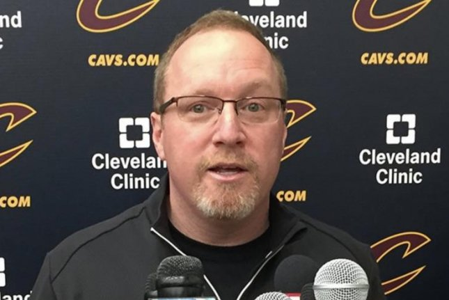 Former Cleveland Cavaliers general manager David Griffin. Photo courtesy of the Cleveland Cavaliers/Twitter.