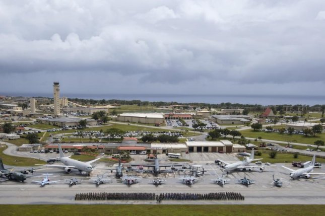 Aircraft From The United States Royal Australian Air Force And An Self Defense Ear Wednesday At Andersen Base Guam