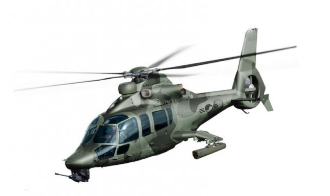 Artist's impression of the attack helicopter Airbus Helicopter will jointly develop with Korea Aerospace Industries. Image: Airbus Helicopters.