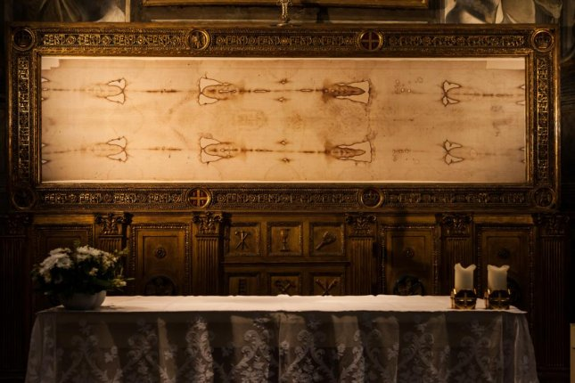 Shroud of Turin back on display in Italy for a limited time - UPI com