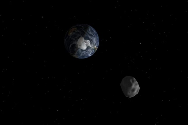 An asteroid will pass within 310,000 miles of Earth on Halloween. Photo by NASA/JPL