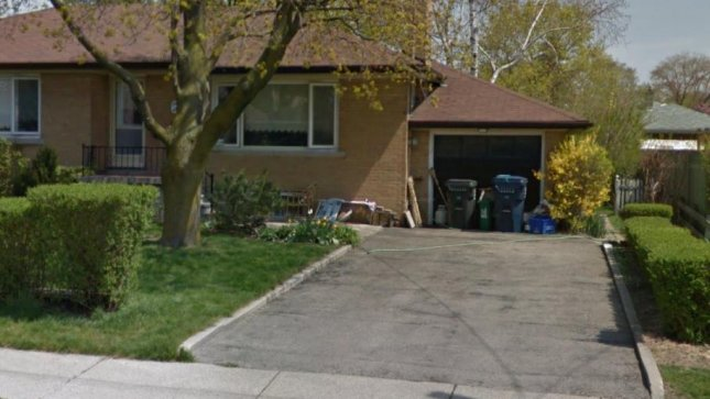 The house at 15 Windsor Rd., Toronto. (Google Street View)