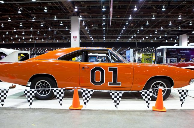 TV Land has pulled from its schedule 'Dukes of Hazzard' reruns, featuring the 1969 Dodge Charger known as the General Lee, which has a Confederate flag painted on its roof. Photo By Darren Brode/Shutterstock