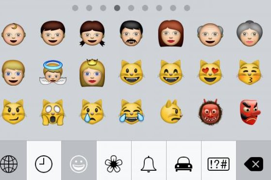 Many users have observed the lack of diversity with emojis, especially among African-Americans. (UPI)