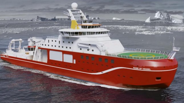 This planned research vessel might one day bear the name Boaty McBoatface, is online voters have their way. Screenshot: NERCscience/YouTube