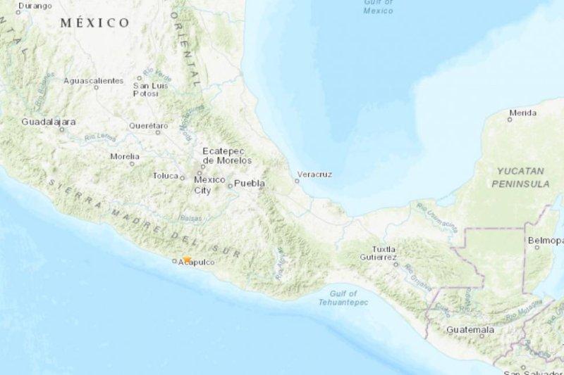 A 4.9-magnitude earthquake shook the Apapulco, Mexico, region on Saturday. Photo courtesy USGS