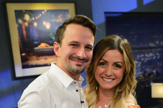 Bachelor in Paradise couple Evan Bass and Carly Waddell have separated. Photo courtesy of ABC