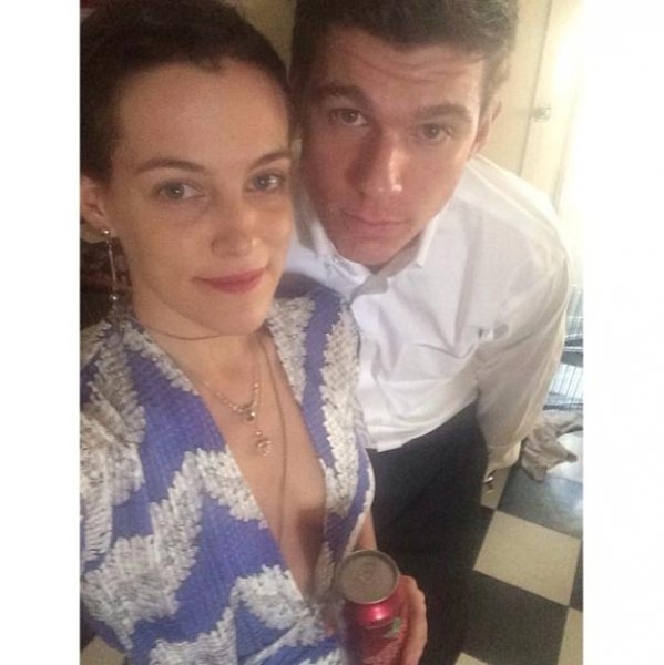 Riley Keough married her fiance Ben Smith-Petersen Wednesday in Napa, Calif. Wednesday. Photo by rileykeough/Instagram