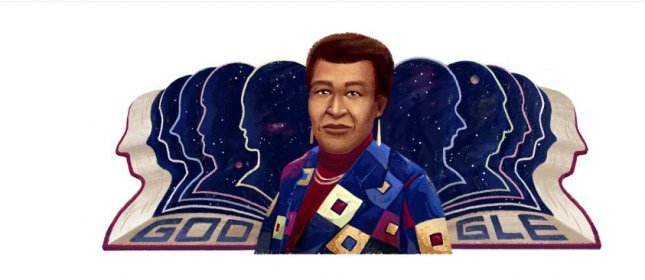 Google paid homage Friday to writer Octavia E. Butler, who released the Parable series. Photo courtesy of Google