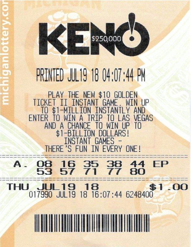 Michigan woman carried winning KENO! ticket for weeks - UPI.com