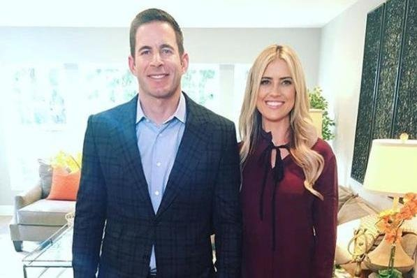Tarek and Christina El Moussa on November 13, 2016. Photo by tarekandchristina/Instagram