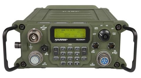 Harris Corporations' new RF-300H radio system, pictured, has been approved by the National Security Agency for transmission of classified data, the company announced on Monday. Photo courtesy Harris Corporation