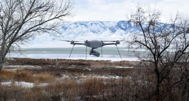 The Indago 3 is an all-weather quad rotor unmanned aerial system equipped with TrellisWare Technologies software to provide a long-range, secure ISR platform for sensitive military operations. Photo courtesy of Lockheed Martin