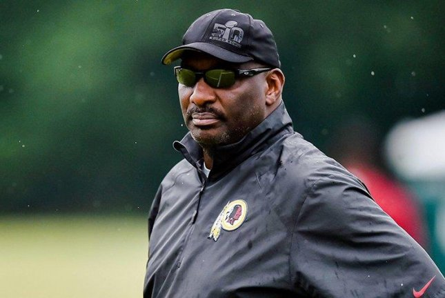 While making his weekly appearance on a local radio show on Thursday, Doug Williams (pictured) admitted he did not talk with all of Reuben Foster's college teammates currently on the roster. Photo courtesy of Washington Redskins/Twitter