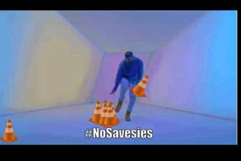 The Philadelphia Police are incorporating Drake into their #NoSavesies campaign. Philadelphia Police/Facebook video screenshot