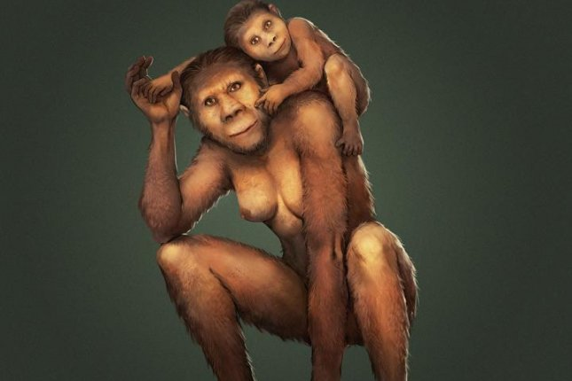 New research suggests Australopithecus africanus moms breastfed their children for the first year of life, likely strengthening the mother-child bond. Photo by Jose Garcia and Renaud Joannes-Boyau/Southern Cross University.