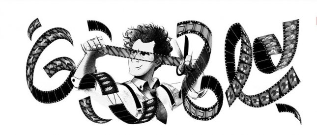 Google is paying homage to director Sergei Eisenstein, who is known as the father of montage. Image courtesy of Google