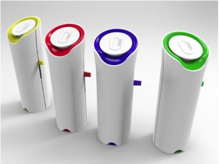 Prototype oPhones. Credit: Michigan Technological University