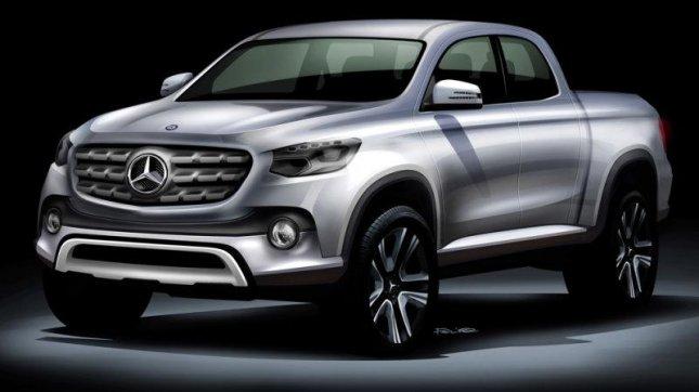 Mercedes Benz Pickup Truck May Not Come To North America   UPI.com