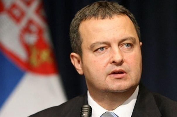 Serbia's Foreign Minister Ivica Dacic said in a news conference Wednesday that participation in the exercises shouldn't impact Serbia's efforts to join the European Union. Photo courtesy of Embassy of the Republic of Serbia