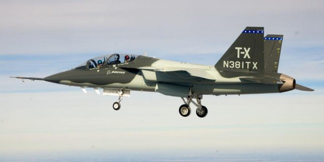 A Boeing T-X trainer being offered the U.S. Air Force. Photo courtesy of Boeing