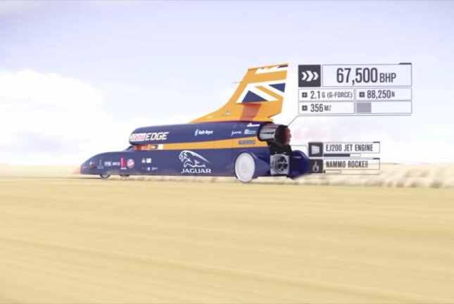 Bloodhound 'Supersonic Car' aiming for 1,000 mph speed
