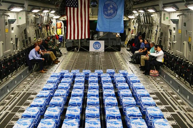 United Nations Command returned 55 cases of remains from North Korea to Osan Air Base, South Korea, on July 27, 2018. Members of the command and the Osan community were on hand at the arrival ceremony. Photo by Sgt. Quince Lanford/U.S. Army