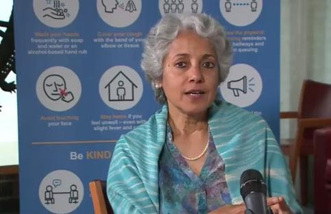 WHO's chief scientist Dr. Soumya said Wednesday that vaccine supplies will initially be limited once one is developed. SwaminathanPhoto courtesy of World Health Organization