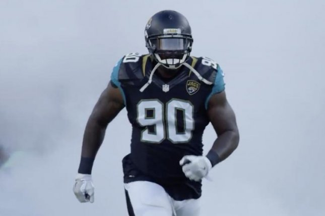 The Jacksonville Jaguars released Malik Jackson Friday, clearing $11 million in salary cap space. The 2017 Pro Bowl selection is expected to join All-Pro defensive tackle Fletcher Cox on the Philadelphia Eagles' defensive line in 2019. Photo courtesy of the Jacksonville Jaguars/Twitter
