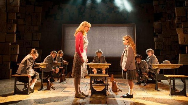 A production photo from Matilda the Musical.