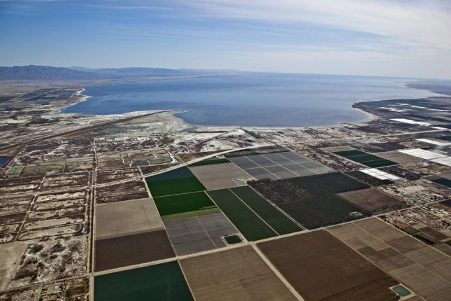 Almost 200 earthquakes were recorded near the Salton Sea in Southern California between Monday and Tuesday, the U.S. Geological Survey said. Three recorded a magnitude of at least 4.0 and nine of 3.0 or greater. The sea, situated on the San Andreas Fault, is commonly the site of earthquakes. File Photo by Tim Roberts Photography/Shutterstock