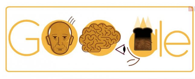 "Google is paying homage to neurosurgeon Wilder Penfield who was once considered ""the greatest living Canadian with a new Doodle. Image courtesy of Google"