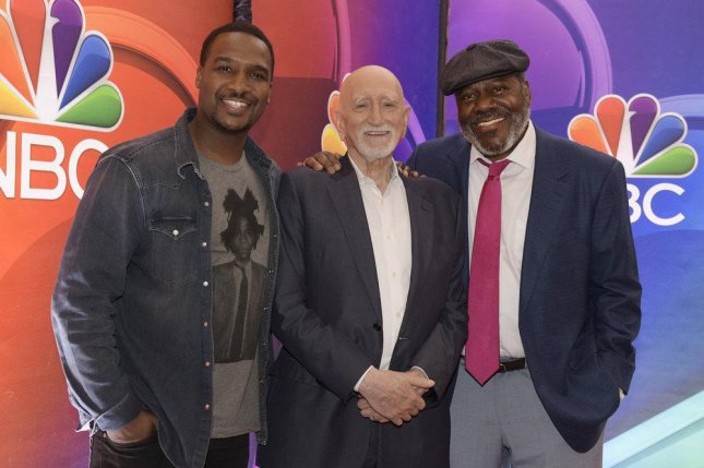 Left to right, actors Jerod Haynes, Dominic Chianese and Frankie Faison can be seen in the new drama The Village, starting Tuesday. Photo by Virginia Sherwood/NBC