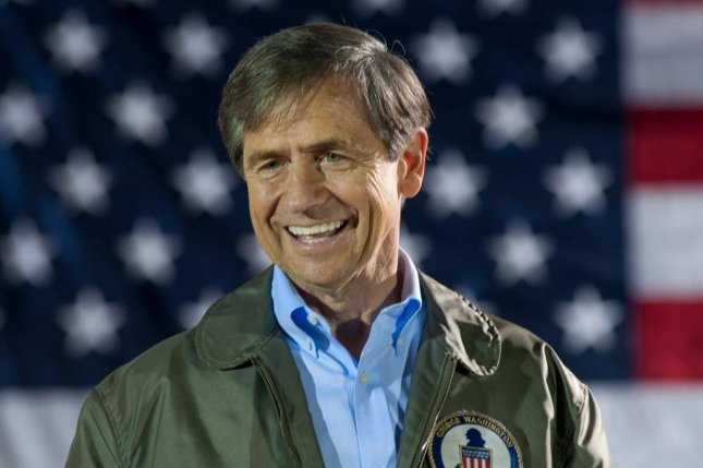 Joe Sestak, pictured on the campaign trail in 2016 for the U.S. Senate, wants to restore the Affordable Care Act, rejoin the Paris Agreement on climate change and raise the corporate tax rate. Photo courtesy of Joe Sestak/Facebook