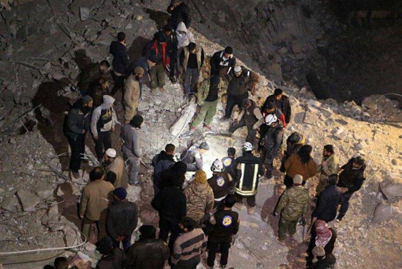 U.S. denies bombing Syrian mosque where dozens died