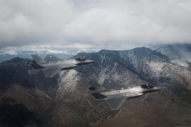 F-35A Lightning II jets in flight from the 34th Fighter Squadron out of Hill Air Force Base. U.S. Air Force photo