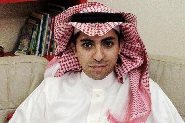 Raif Badawi was arrested in 2012 for cybercrime and insulting Islam through electronic channels through his website. He was sentenced in May 2014 to 1,000 lashes and 10 years imprisonment. Photo courtesy of PEN International.