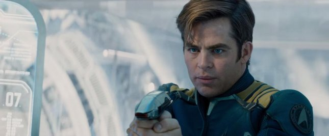 Chris Pine as Cpt. James T. Kirk in the second trailer for Star Trek Beyond. Photo courtesy of Paramount Pictures/Youtube