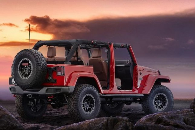 Jeep Las Vegas >> Red Rock Jeep Wrangler Concept To Be Unveiled In Las Vegas Upi Com