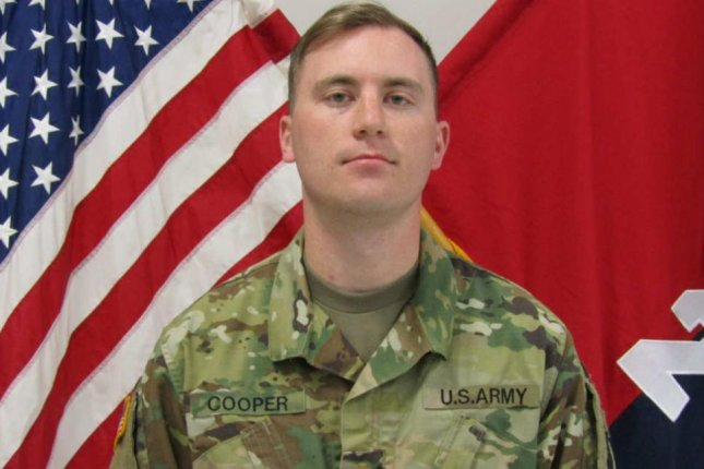 First Lt. Jeffrey D. Cooper from Washington state's city of Mill Creek has been identified by the U.S. Department of Defense as the soldier who was killed on Saturday after a vehicle crash in Kuwait. The Pentagon said Cooper was supporting the United State's anti-Islamic State operation. Photo courtesy of U.S. Army